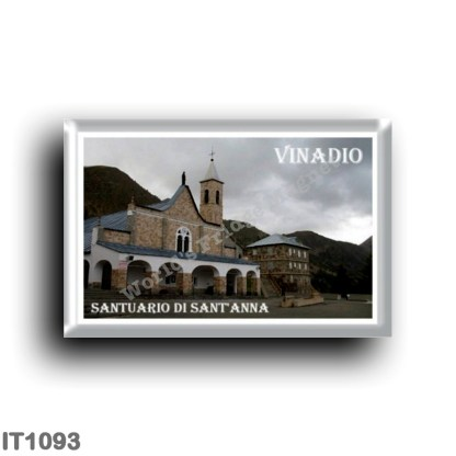 IT1093 Europe - Italy - Piedmont - Vinadio - Santuario Sant'Anna