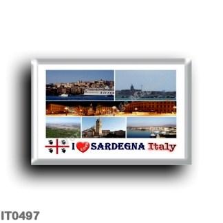 IT0497 Europe - Italy - Sardinia - I Love