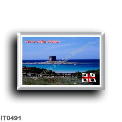 IT0491 Europe - Italy - Sardinia - Stintino - Torre della Pelosa