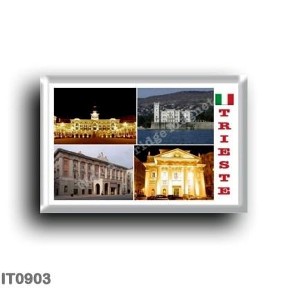 IT0903 Europe - Italy - Friuli Venezia Giulia - Trieste - Mosaic