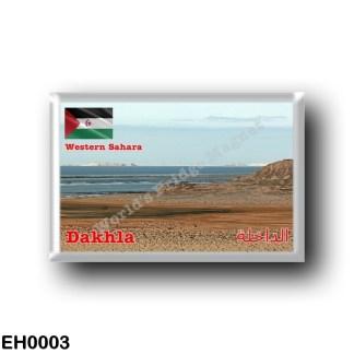 EH0004 Africa - Western Sahara bay - Dakhla