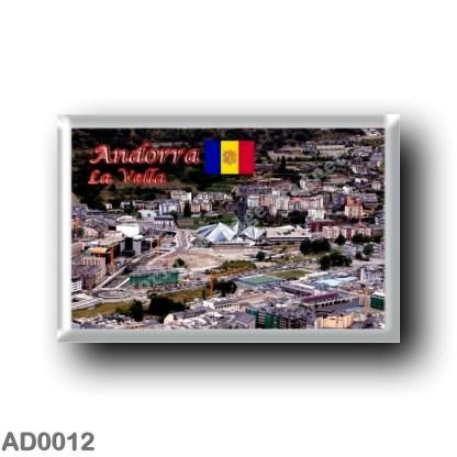 AD0012 Europe - Andorra - La Vella - Panorama