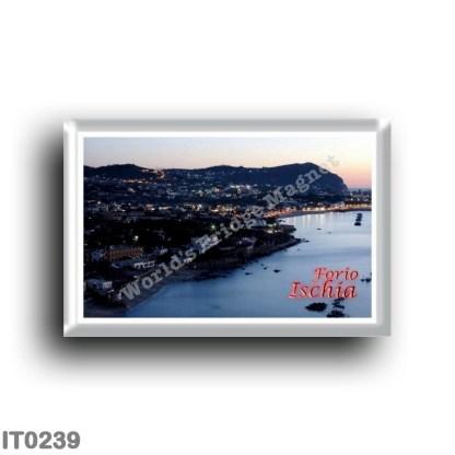 IT0239 Europe - Italy - Campania - Ischia Island - Forio at Twilight