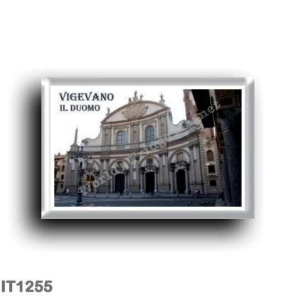 IT1255 Europe - Italy - Lombardy - Vigevano - cathedral