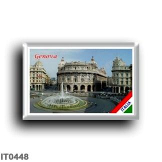 IT0448 Europe - Italy - Liguria - Genoa - Piazza Ferrari