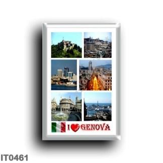 IT0461 Europe - Italy - Liguria - Genoa - I Love