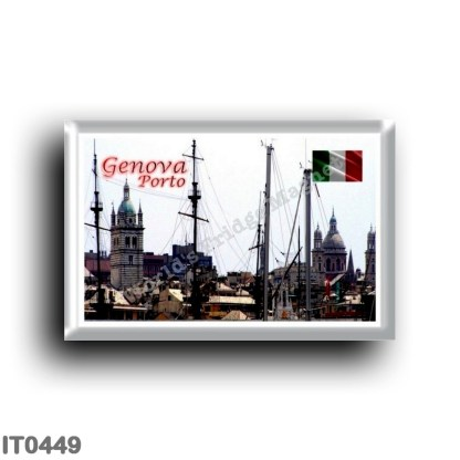IT0449 Europe - Italy - Liguria - Genoa - Porto