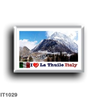 IT1029 Europa - Italia - Valle d'Aosta - La Thuile - I Love