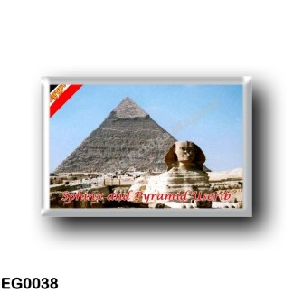 EG0038 Africa - Egypt - Red Sea - The Great Sphinx and the Pyramid of Userib