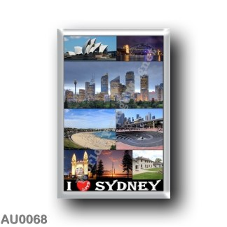 AU0068 Oceania - Australia - Sydney - I Love