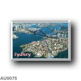 AU0075 Oceania - Australia - Sydney - Harbour Bridge from the air