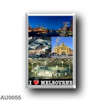 AU0055 Oceania - Australia - Melbourne - I Love