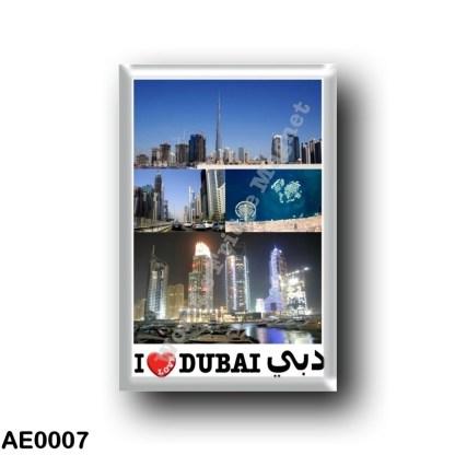 AE0007 Asia - United Arab Emirates - Dubai - I Love