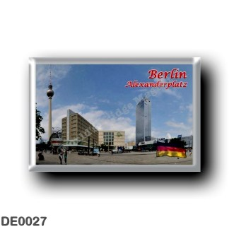 DE0027 Europe - Germany - Berlin - Alexanderplatz