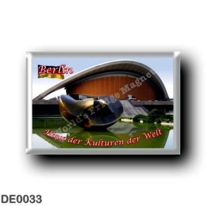 DE0033 Europe - Germany - Berlin - Haus der Kulturen der Welt