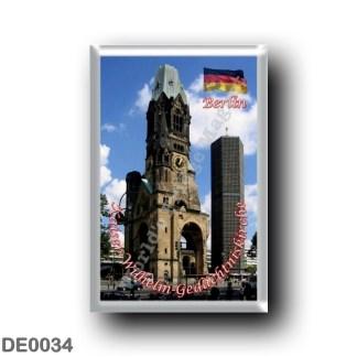 DE0034 Europe - Germany - Berlin - Kaiser-Wilhelm-Gedächtniskirche