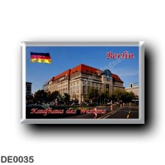 DE0035 Europe - Germany - Berlin - Kaufhaus Des Westens B