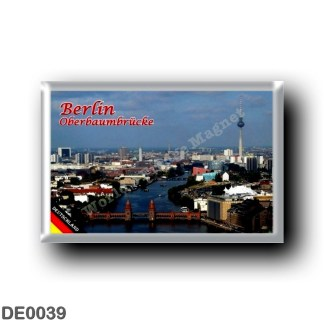 DE0039 Europe - Germany - Berlin - Oberbaumbrücke