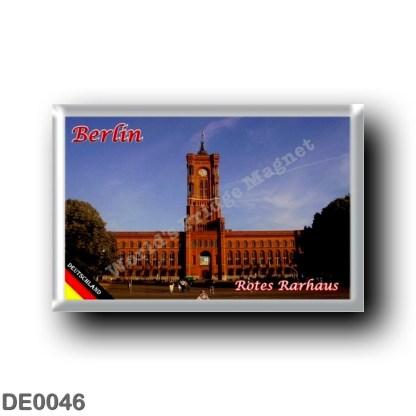 DE0046 Europe - Germany - Berlin - Rotes Rarhaus