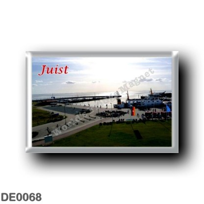 DE0068 Europe - Germany - Friesische Inseln - Frisian Islands - Juist - Port