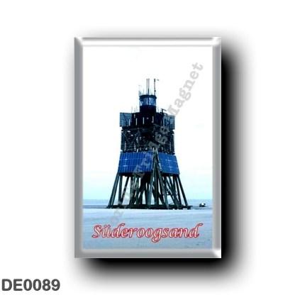 DE0089 Europe - Germany - Friesische Inseln - Frisian Islands - Süderoogsand - Leuchtturm