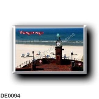 DE0094 Europe - Germany - Friesische Inseln - Frisian Islands - Wangerooge - Ufer