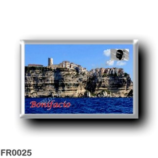FR0025 Europe - France - Corsica - Bonifacio - Panorama