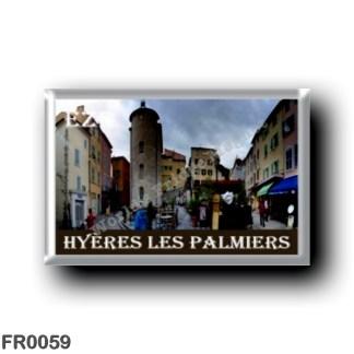 FR0059 Europe - France - French Riviera - Côte d'Azur - Hyères les Palmiers
