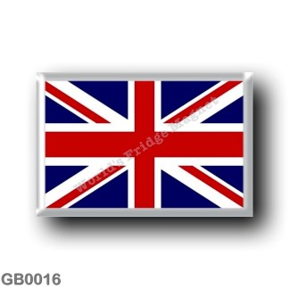 GB0016 Europe - England - UK Flag United Kingdom