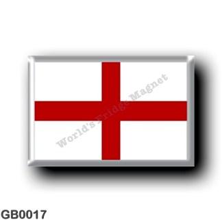 GB0017 Europe - England - English Flag