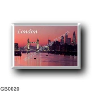 GB0020 Europe - England - London - River Thames