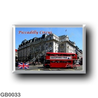 GB0033 Europe - England - London - Piccadilly Circus