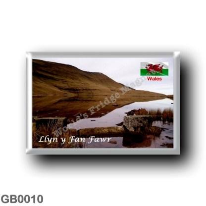 GB0010 Europe - Wales - Llyn y Fan Fawr
