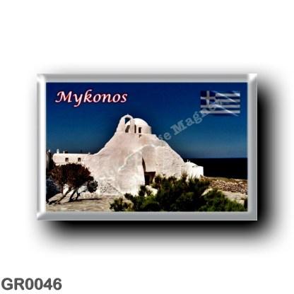 GR0046 Europe - Greece - Mykonos - Church of Panagia
