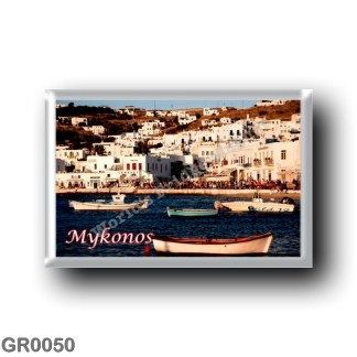 GR0050 Europe - Greece - Mykonos - Coastline