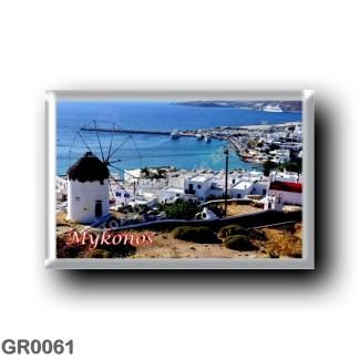 GR0061 Europe - Greece - Mykonos - Panorama