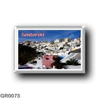 GR0073 Europe - Greece - Santorini - Thera - Thira - Firostefani