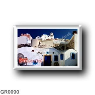 GR0090 Europe - Greece - Santorini - Thera - Thira - Streets