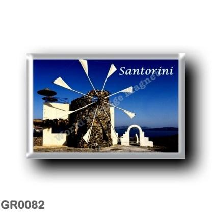 GR0082 Europe - Greece - Santorini - Thera - Thira - The windmills
