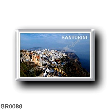 GR0086 Europe - Greece - Santorini - Thera - Thira - Panorama