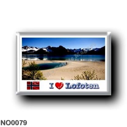 NO0079 Europe - Norway - Lofoten - Panorama I Love