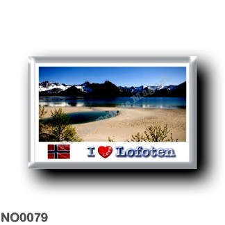 NO0079 Europe - Norway - Lofoten - Panorama I Love