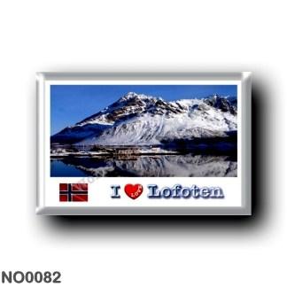 NO0082 Europe - Norway - Lofoten - Sildpollneset - I Love