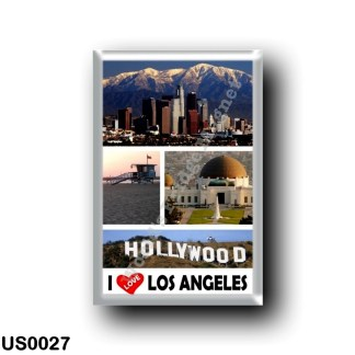 US0027 America - United States - Los Angeles - I Love