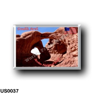 US0037 America - United States - National Park - Arches - Double Arch