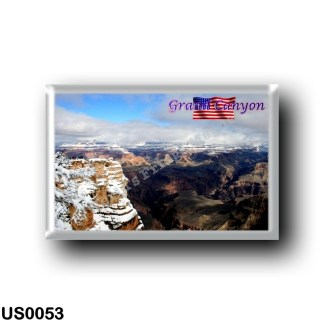 US0053 America - United States - National Park - Grand Canyon - Covered with Snow