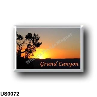 US0072 America - United States - National Park - Grand Canyon - Sunset