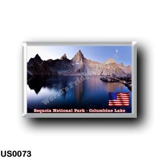 US0073 America - United States - National Park - Sequoia - Columbine Lake