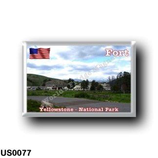 US0077 America - United States - National Park - Yellowstone - Fort