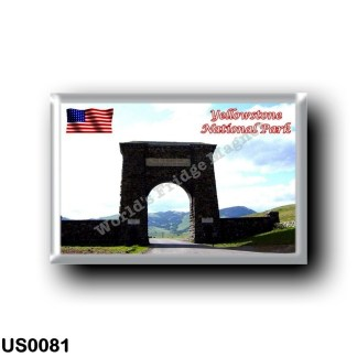 US0081 America - United States - National Park - Yellowstone - Welcome
